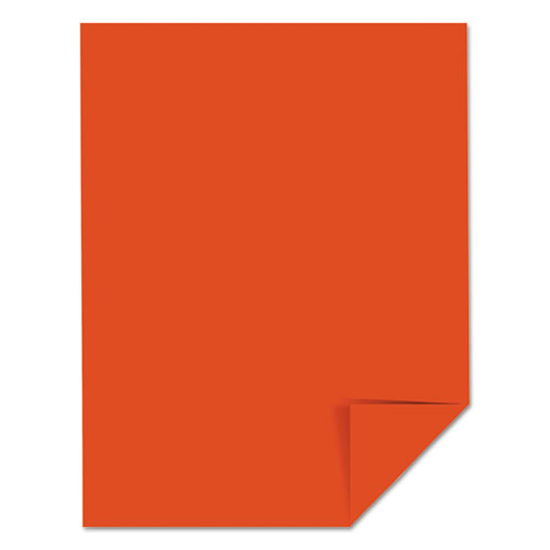 Color Cardstock 65lb 8 1 2 X 11 Orbit Orange 250