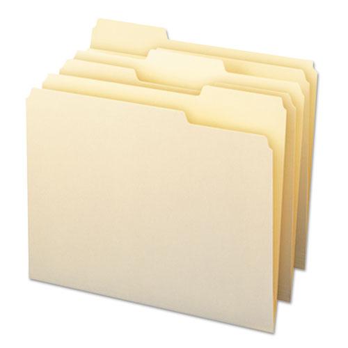 Manila File Folders, 1/3-Cut Tabs, Letter Size, 24/Pack