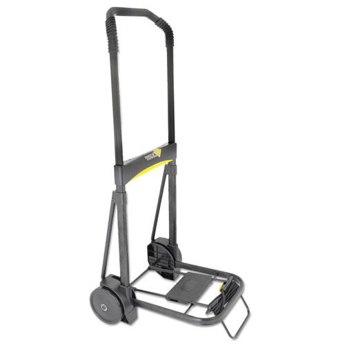 Ultra-Lite Folding Cart, 250 lb Capacity, 11 x 13.25 Platform, Black