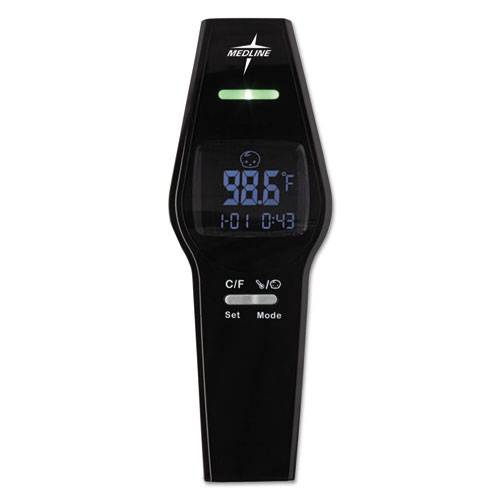 No Touch Forehead Thermometer, Black