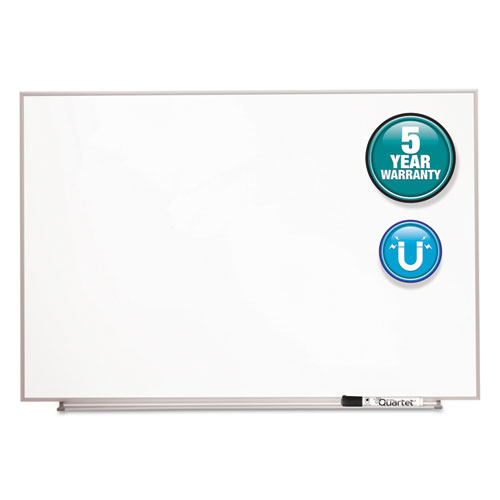 Matrix Magnetic Boards, Painted Steel, 23 x 16, White, Aluminum Frame | by Plexsupply