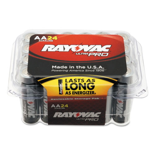 Rayovac® Ultra Pro Alkaline Batteries, 9V, 12/Pack