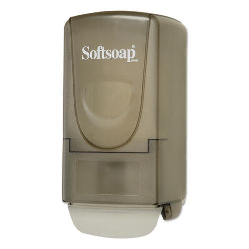 Softsoap® Plastic Liquid Soap Dispenser, 800mL, 5.4w x 4 1/2d x 10.9h, Smoke
