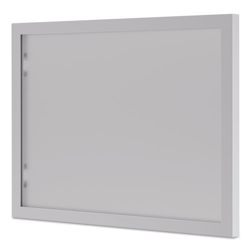 BL Series Hutch Doors, Glass, 13.25w x 17.38h, Silver/Frosted