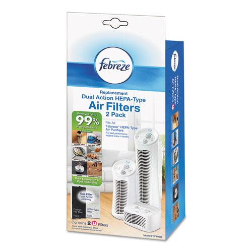 Air Purifier Filter Refill, 5 1/8 x 1 5/8 x 11 7/8, 2/each