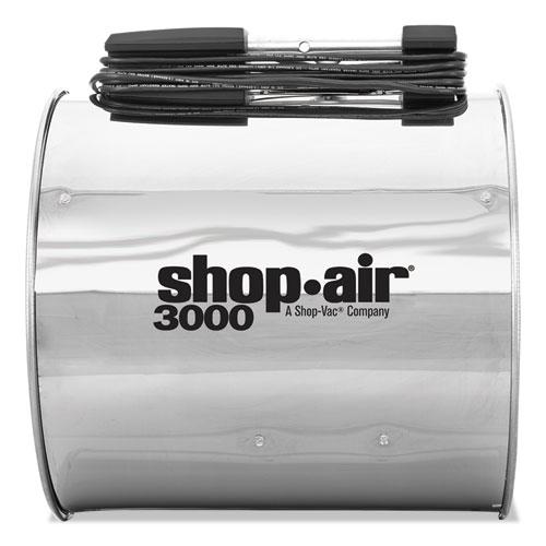 "Shop-Air® Wall Mount Blower, 16"", Stainless Steel, 3-Speed, 1/2 HP Motor"