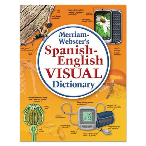 Spanish-English Visual Dictionary, Paperback, 1152 Pages | by Plexsupply