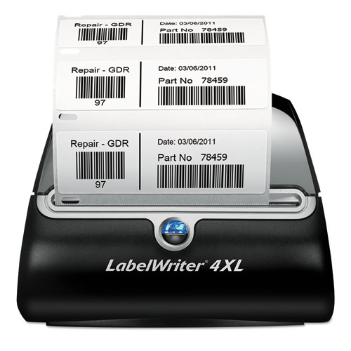 "LabelWriter 4XL, 4 4/25"" Labels, 53 Labels/Minute, 7 3/10w x 7 4/5d x 5 1/2h 