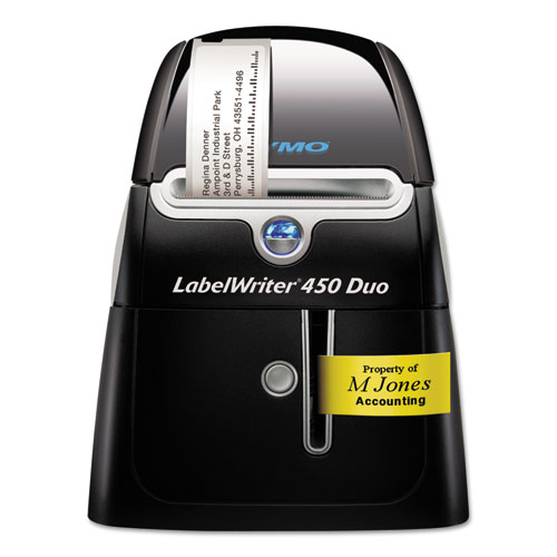 LabelWriter 450 DUO Label Printer, 71 Labels/min Print Speed, 5.5 x 7.8 x 7.3
