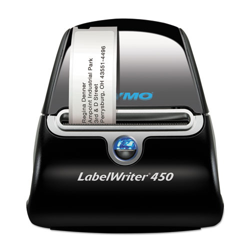"LabelWriter 450 Label Printer, 2 3/10"" Labels, 51 Labels/Min, 5w x 7 2/5d x 5 1/5h 