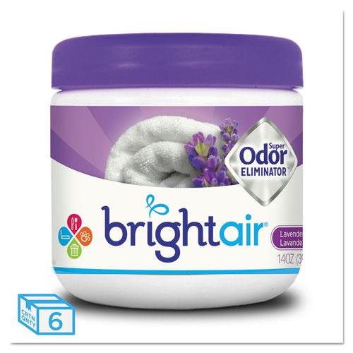 Super Odor Eliminator, Lavender and Fresh Linen, Purple, 14 oz, 6/Carton | by Plexsupply