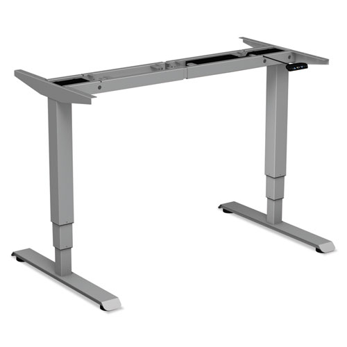 AdaptivErgo 3-Stage Electric Table Base w/Memory Controls, 25 to 50.7, Gray
