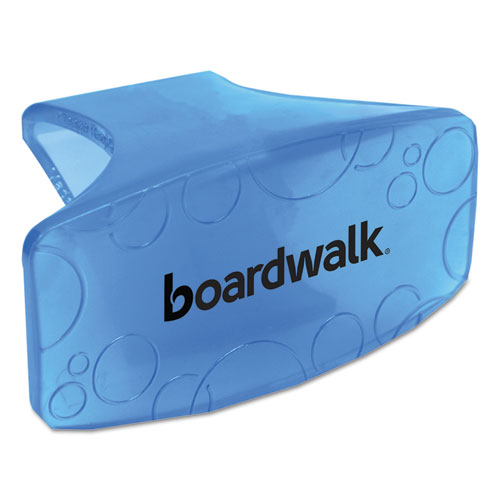 Boardwalk® Bowl Clip, Cotton Blossom Scent, Blue, 12/Box, 6 Boxes/Carton