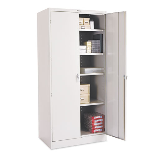 "78"" High Deluxe Cabinet, 36w x 24d x 78h, Light Gray 