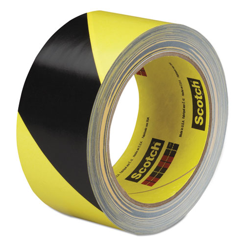 Caution Stripe Tape, 2w x 108 ft Roll