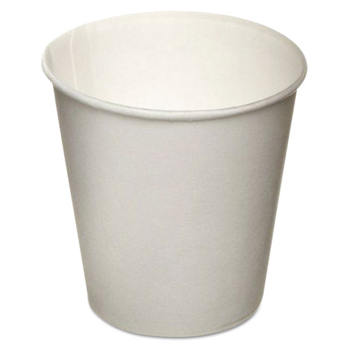 Eco-Forward Treated Paper Water Cups, 3 oz., Cold, WHT, 100/Bag, 24 Bags/Carton RD3LBB