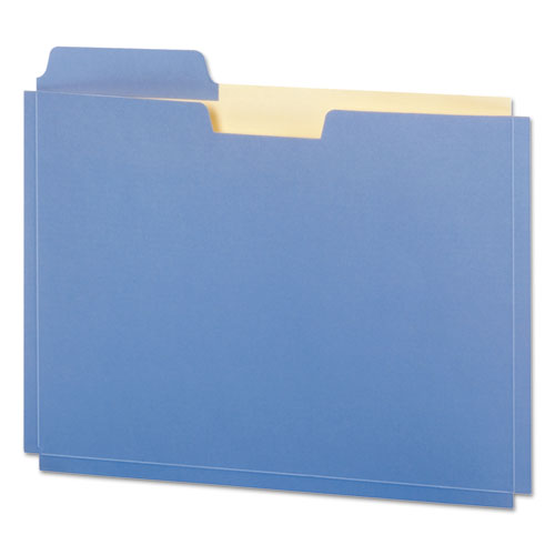 "File Folder Pocket, 0.75"" Expansion, Letter Size, Assorted, 10/Pack 