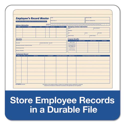 Top3280 Tops Employee Record Master File Jacket Zuma