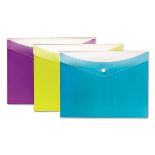 pendaflex poly snap envelope 8 1 2 x 11 charcoal kss enterprises
