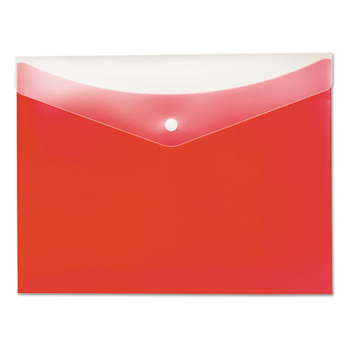 poly snap envelope 8 1 2 x 11 strawberry office source 360