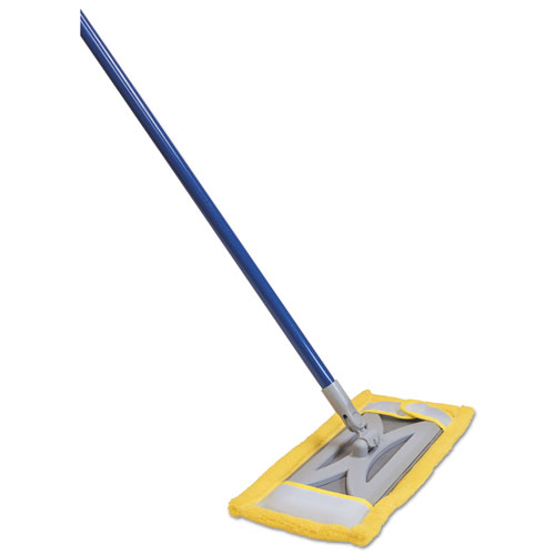 Quickie® Microfiber Floor Mop Refill, Terry Cloth, 6.5w x 2.5d, Yellow