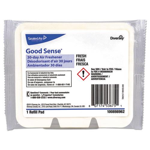 Diversey™ Good Sense 30-Day Air Freshener, Fresh, 12/Carton
