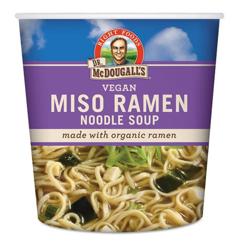 Ramen Noodle Soup Cups, Miso Noodle Soup, 1.9 oz Cup, 6/Carton 01110