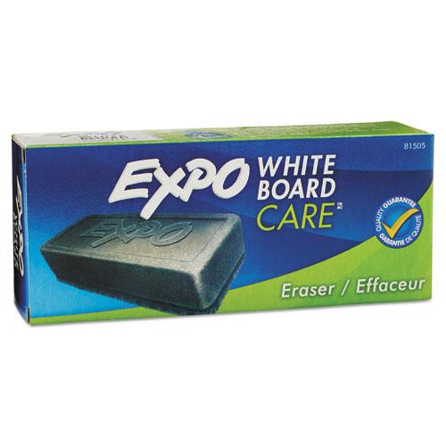 Dry Erase Eraser, Soft Pile, 5 1/8w x 1 1/4h | by Plexsupply