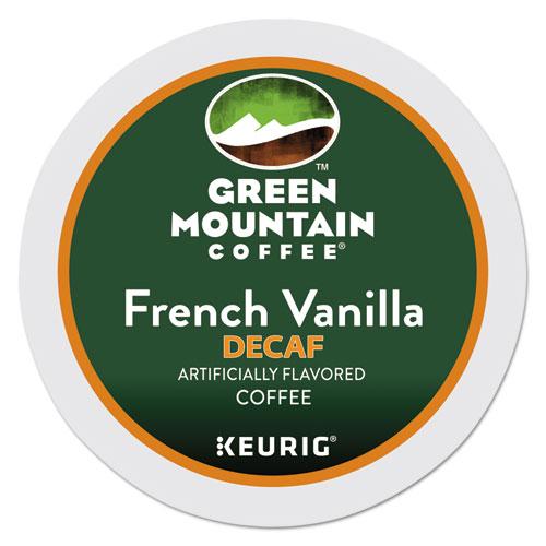 Green Mountain Coffee® French Vanilla Decaf Coffee K-Cups, 24/Box