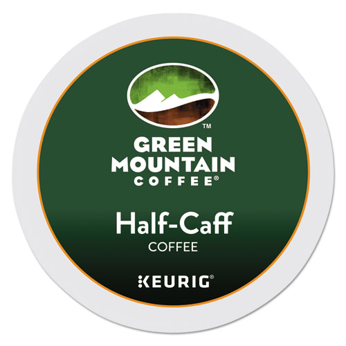 Half-Caff Coffee K-Cups, 96/Carton 6999CT