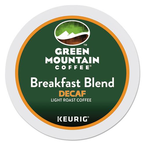 Green Mountain Coffee® Breakfast Blend Decaf Coffee K-Cups, 24/Box