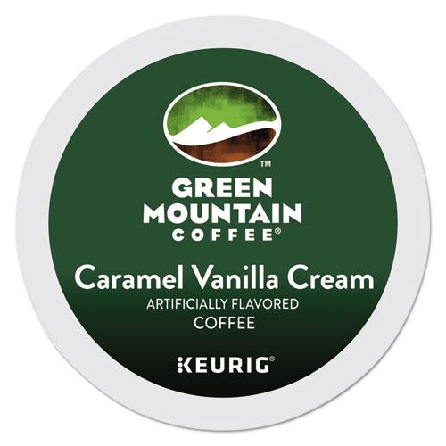 Caramel Vanilla Cream Coffee K-Cups, 24/Box 6700