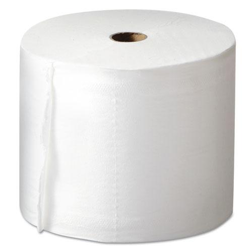 Morcon Paper Mor-Soft Coreless Alternative Bath Tissue, 2-Ply, White, 1000 Sheets/Roll, 36/Ct