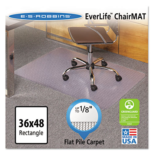 Everlife Chair Mats For Medium Pile Carpet Rectangular