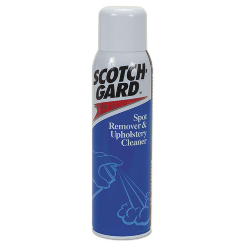 Scotchgard™ Spot Remover and Upholstery Cleaner, 17 oz, Aerosol, 12/Carton