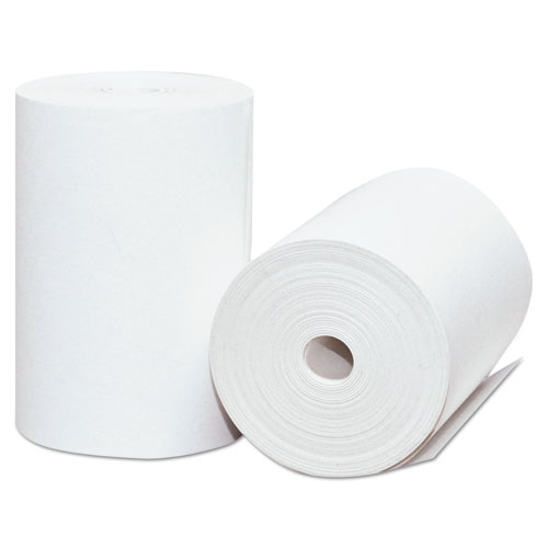 Direct Thermal Printing Thermal Paper Rolls, 2.25 x 75 ft, White, 50/Carton