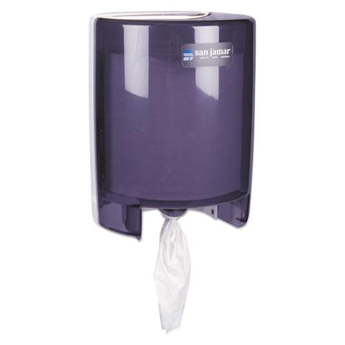 Centerpull Paper Towel Dispenser, Black Pearl, 9 1/8 x 9 1/2 x 11 5/8 | by Plexsupply