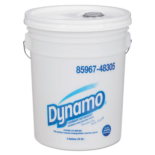 Dynamo® Industrial-Strength Detergent, 5gal Pail