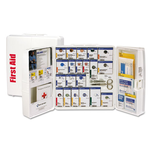 ANSI 2015 SmartCompliance First Aid Station, 50 People, 202 Pieces