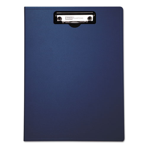 "Mobile OPS® Portfolio Clipboard With Low-Profile Clip, 1/2"" Capacity, 8 1/2 x 11, Blue"