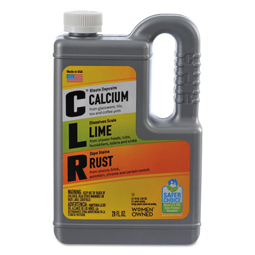 Calcium, Lime and Rust Remover, 28 oz Bottle, 12/Carton