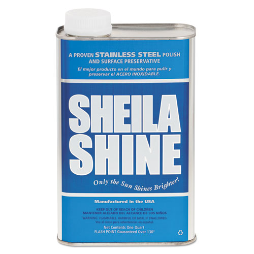 Stainless Steel Cleaner & Polish, 1qt Can | by Plexsupply
