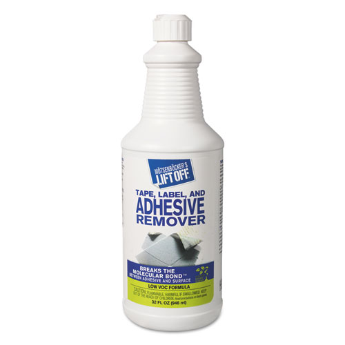 Tape, Label and Adhesive Remover, 32oz, Pour Bottle, 6/Carton