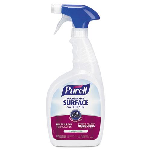 PURELL® Foodservice Surface Sanitizer, Fragrance Free, 32 oz Spray Bottle