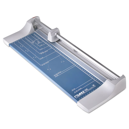 """Rolling/Rotary Paper Trimmer/Cutter, 7 Sheets, 18"""" Cut Length"""