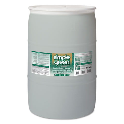 Simple Green® Industrial Cleaner & Degreaser, Concentrated, 55 gal Drum