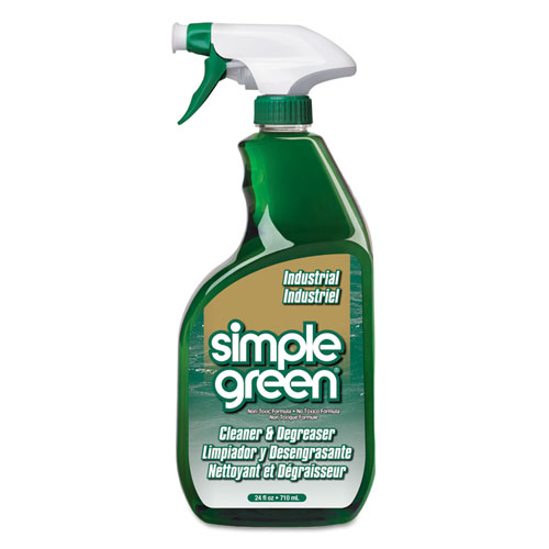 Simple Green® Industrial Cleaner & Degreaser, Concentrated, 1 gal Bottle, 6/Carton