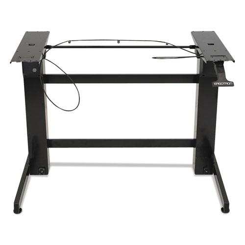 WorkFit™ by Ergotron® WorkFit-B Sit-Stand Workstation Base, Heavy-Duty, 88 lbs. Max Weight Cap, Black