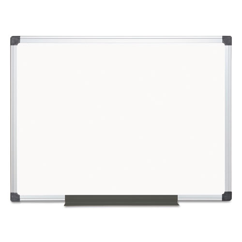 Value Lacquered Steel Magnetic Dry Erase Board, 36 x 48, White, Aluminum Frame