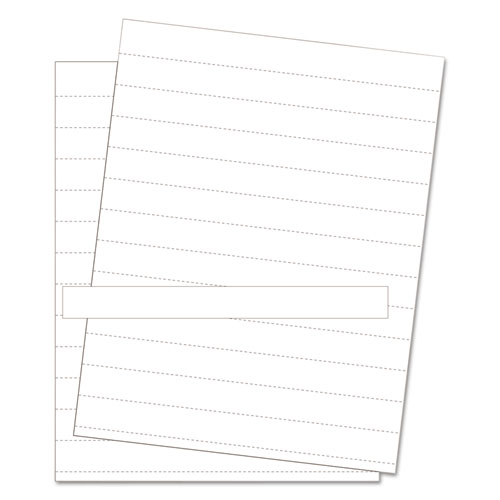 Data Card Replacement Sheet, 8 1/2 x 11 Sheets, White, 10/PK | by Plexsupply